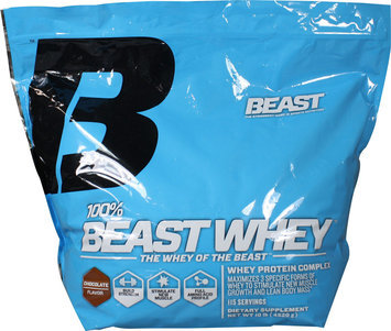 Beast Sports Nutrition, 100% Whey Chocolate 10 lb