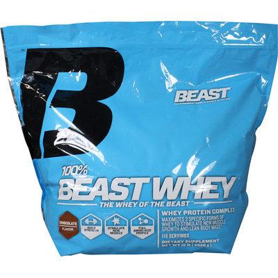 Beast Sports Nutrition, 100% Whey Chocolate 10 lb