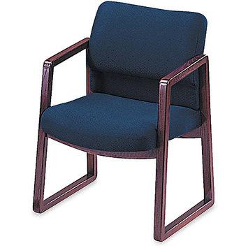 HON 2400 Series Blue Guest Arm Chair