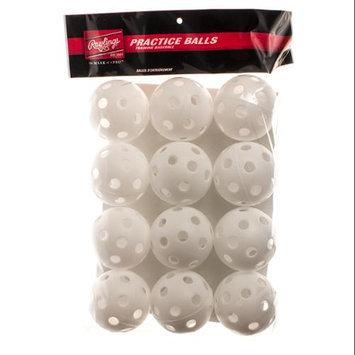 Tanners Rawlings 9 Plastic Baseballs (white 12 pk)