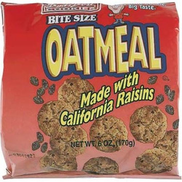 Buds Best Oatmeal 6 oz Bag Cookies(Case of 12)