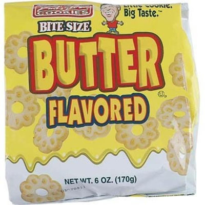 Ddi Butter 6 oz Bag Cookies(Case of 12)