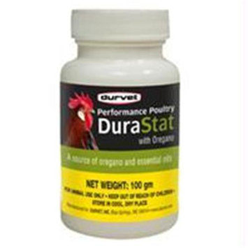 Durvet Inc D-Performance Poultry Durastat With Oregano 100 Gram
