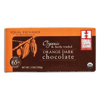 Equal Exchange Organic Orange Dark Chocolate - 3.5 oz - Vegan
