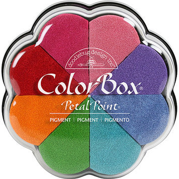 Clearsnap ColorBox Pigment Petal Point Option Pad 8 Colors-Fun