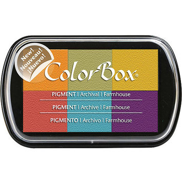Clearsnap Colorbox Pigment Ink Pad 6 Colors-Farmhouse