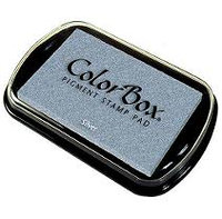 Clearsnap 223779 ColorBox Metallic Pigment Inkpad-Silver
