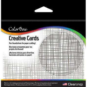 Clearsnap Colorbox Creative Cards, Fanciful 300230 CLEARSNAP
