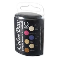 ColorBox CS27201 Archival Dye Queue Coffee House Ink Set