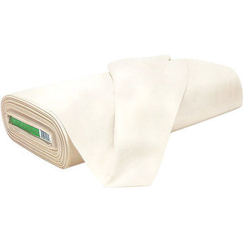 Rockland 409U Muslin 4445 in. Wide 100 percent Cotton 200ct 25yds DRUnbleachedNatural Case of 25