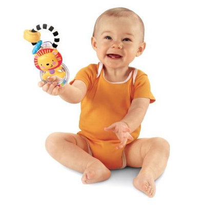Fisher Price Fisher-Price Discover 'n Grow Lion Ring Rattle
