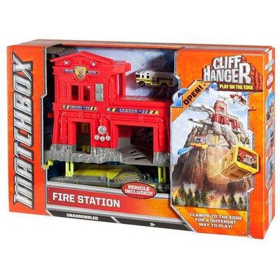 Rgc Redmond Matchbox CLIFF HANGERS Fire Station Playset - MATTEL, INC.