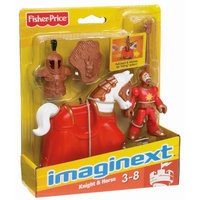 Mattel, Inc. Imaginext IMAGINEXT CASTLE GOOD KNIGHT & HORSE