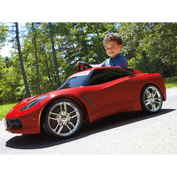 Power Wheels Barbie Corvette Battery-Operated Ride On