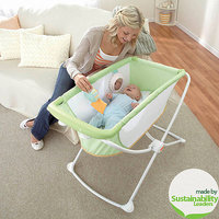 Fisher Price Rock 'n Play Portable Bassinet - Green