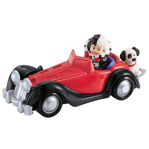 Fisher Price Fisher-Price Little People Cruella De Vil Vehicle