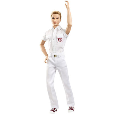 Barbie Texas A & M University Ken Doll
