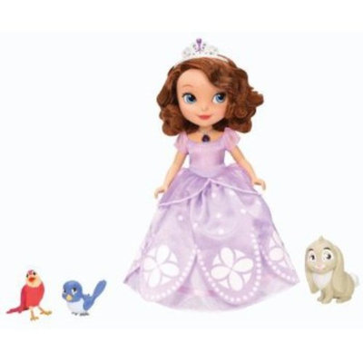 Mattel, Inc. Disney The First Talking Sofia Doll and Animal Friends