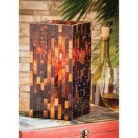 Evergreen Enterprises, Inc Cape Craftsmen Mosaic Square Glass Votive