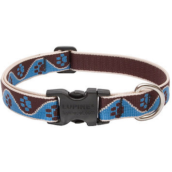 Lupine Muddy Paws Adjustable Collar