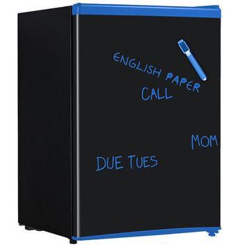 Equator REF 95R- 28 - Chalkboard 2.8 Cubic Feet Defrost Refrigerator - Chalkboard
