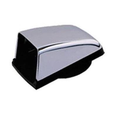 Equator Advanced Appliances Chrome Cowl Outside Vent Kit
