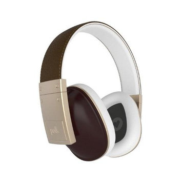 Polk Audio Buckle Over-Ear Headphones - Brown
