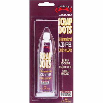 Helmar Scrap Dots 3D Liquid Adhesive, 1.06 oz