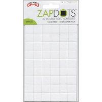 Helmar Zapdots 3D Adhesive Dots-White Squares .5 132/Pkg