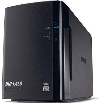 Buffalo Technology Buffalo Drivestation Pro Hd-wh4tu3/r1 Das Array - 2 X Hdd Installed - 4TB Installed Hdd Capacity - Serial Ata/300 Controller - 2 X Total Bays - USB 3.0 External (hd-wh4tu3r1)