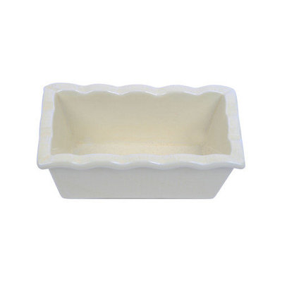 Dei Farm to Table Ceramic Large Bake and Serve Loaf Pan Color: Red