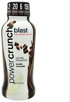 Lone Star Distribution BioNutritional Power Crunch Blast Double Chocolate 12 ct 12 oz - POWCPOWR0012CHOCLQ