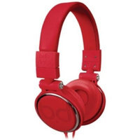 Bello Over-the-head Headphones - Stereo - Red - Mini-phone - Wired - Gold Plated - Over-the-head - Binaural - Circumaural (bdh806rd)