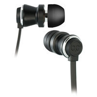 Bell'o International Bell'O BDH641 Earset - Stereo - Chrome, Matte Black - Mini-phone - Wired