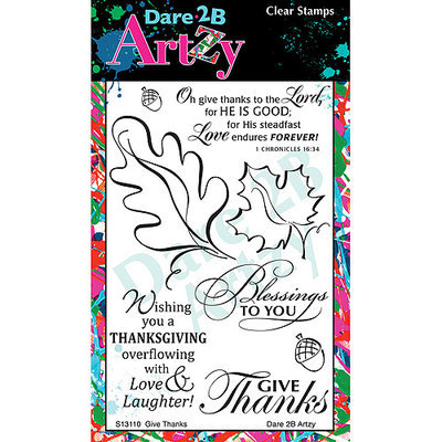 Dare 2B Artzy Clear Stamps 4