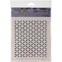 Stampers Anonymous Wendy Vecchi Cling Rubber Stamp -Lattice