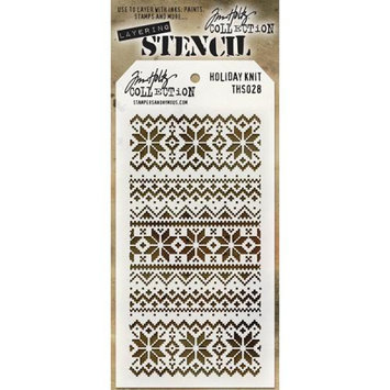 Stampers Anonymous Tim Holtz Layered Stencil 4.125