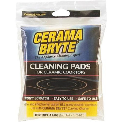 Cerama Bryte Ceramic Cooktop Cleaning Pads (#29128)