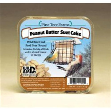 Pine Tree Farms 12 Ounce Suet Peanut Butter Cake