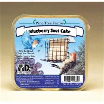 Pine Tree Farms Blueberry Suet Cake 12 Oz