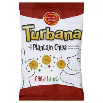 Turbana Plantain Chips Chili Lime 7 oz