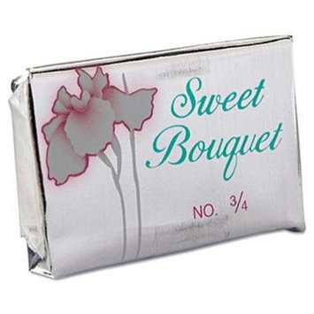Sweet Bouquet Soap Bar 0.75 Oz Foil Wrapped