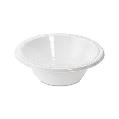 Boardwalk Plastic Bowls 12 oz. High Impact Plastic Bowl, White