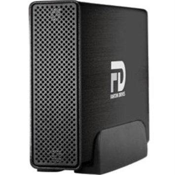 Micronet Technology Fantom Drives G-force Quad 8TB Usb3.0/2.0/esata/firewire800/400 Aluminum External Hard Drive - USB 3.0, Esata, Firewire/i.link 800 - Black - Retail (gf8000qu3)