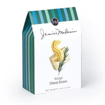 JM Foods AC71 Asiago Cheese Straw 6 oz.
