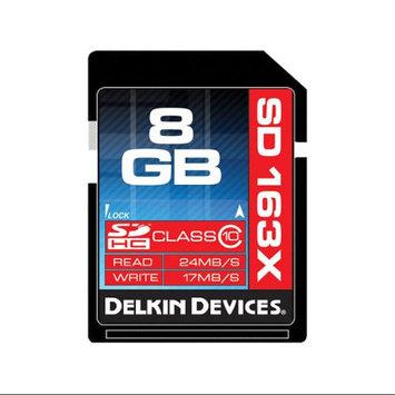 Delkin SD Pro Class 10 163X Memory Card - 8GB