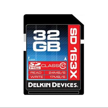 Delkin Ddsdpro3 Sdhc Memory Card 32GB Cl 12