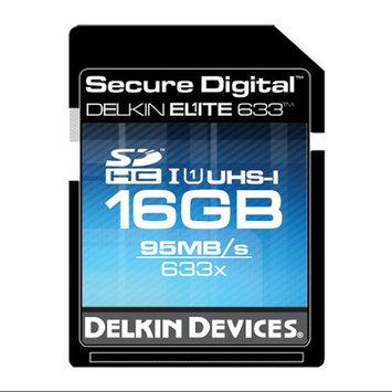 Delkin 16GB Secure Digital Elite Memory Card 633x