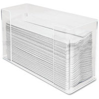 Kantek Inc. Kantek Acrylic C-Fold Dispenser, Clear