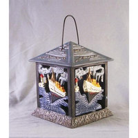 Aa Importing Cast Iron Tealight Candle Holder with Titanic Motif